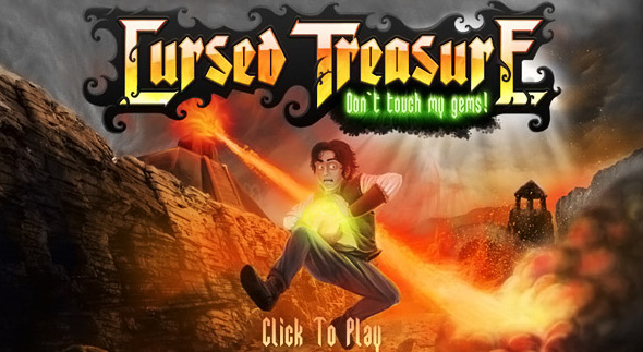 Cursed Treasure: Don't touch